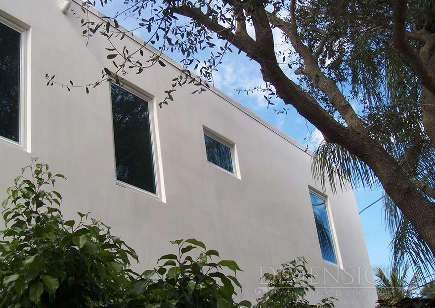 Exterior With White Italian Lime Plaster Dimensions Plaster